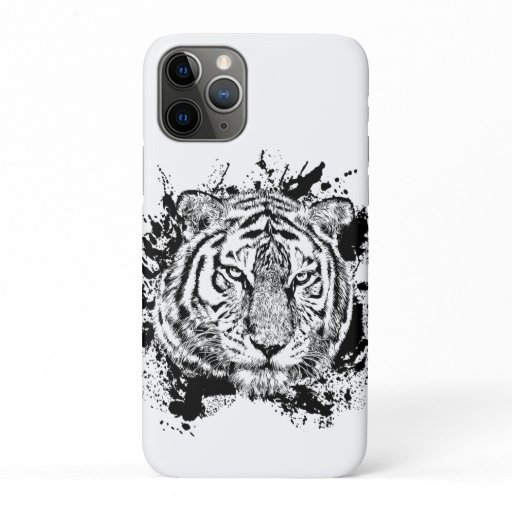Tigre Animal Sauvage Jungle Safari Afrique Monde N iPhone 11 Pro Case