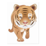 Tigre apacible postal