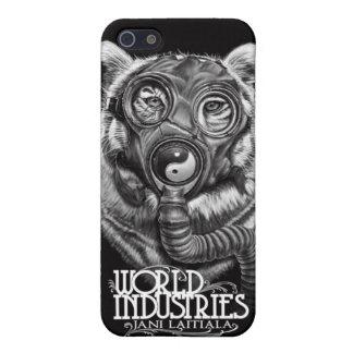 Tigre apocalíptico de Jani iPhone 5 Protectores
