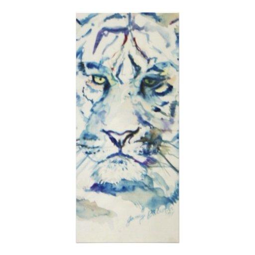 Tigre azul lona personalizada