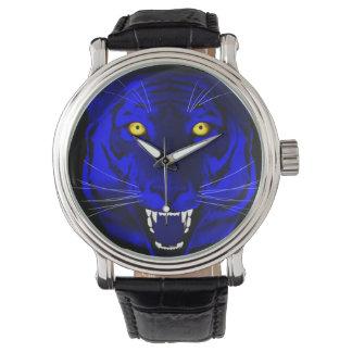 Tigre azul relojes