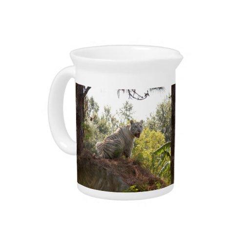 Tigre blanco 012 jarras para bebida