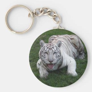 tigre blanco 1 9x9 llavero redondo tipo pin