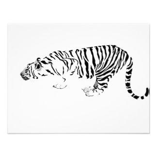 Tigre blanco anuncios