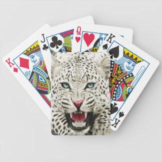 tigre blanco baraja cartas de poker