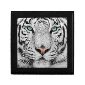 Tigre blanco caja de joyas