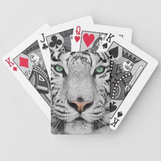 Tigre blanco cartas de juego