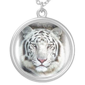 Tigre blanco colgante redondo
