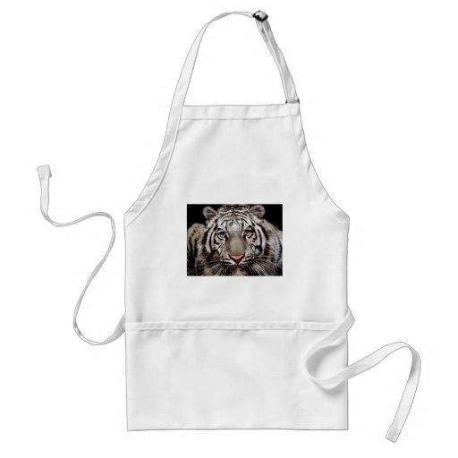 Tigre blanco delantales