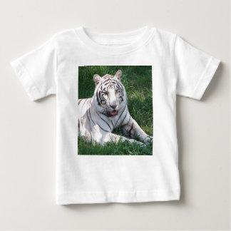 Tigre blanco en imagen vertical del marco de la camisas
