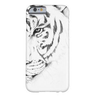 tigre blanco funda de iPhone 6 barely there
