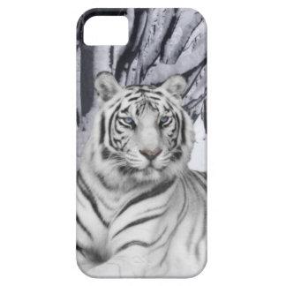 Tigre blanco iPhone 5 Case-Mate funda