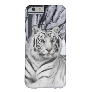 Tigre blanco funda para iPhone 6 barely there