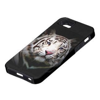 Tigre blanco funda para iPhone SE/5/5s