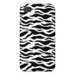 Tigre blanco iPhone 4 carcasa
