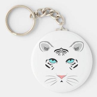 Tigre blanco llaveros