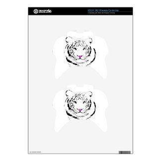 Tigre blanco mando xbox 360 skin