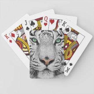 Tigre blanco naipes