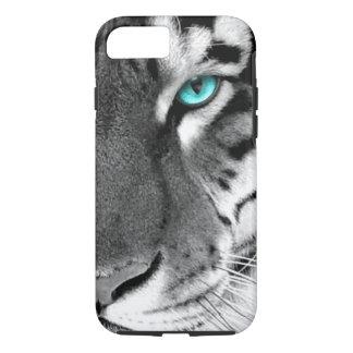 Tigre blanco negro funda iPhone 7
