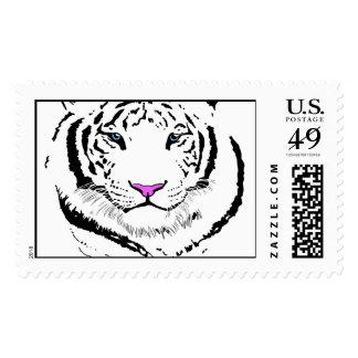Tigre blanco sello