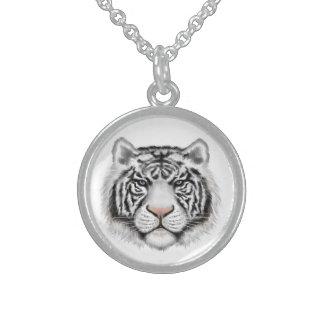 Tigre blanco siberiano pendientes