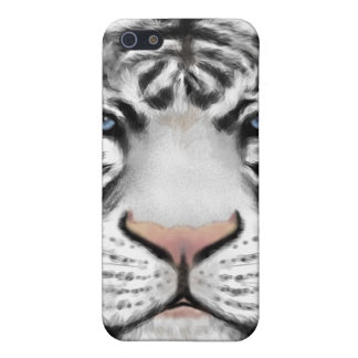 Tigre blanco siberiano iPhone 5 funda