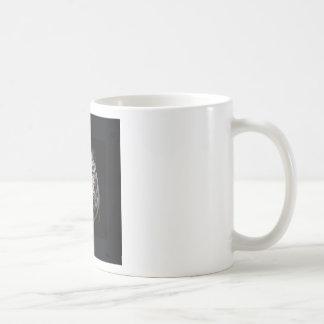 Tigre blanco taza clásica