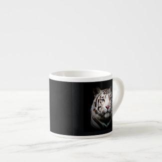 Tigre blanco taza espresso