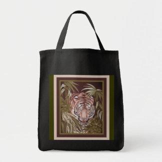 Tigre Bolsa Lienzo