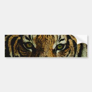 Tigre Etiqueta De Parachoque