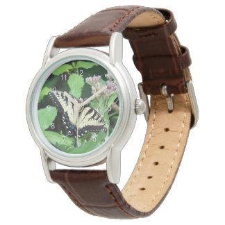 Tigre canadiense Swallowtail Reloj De Mano