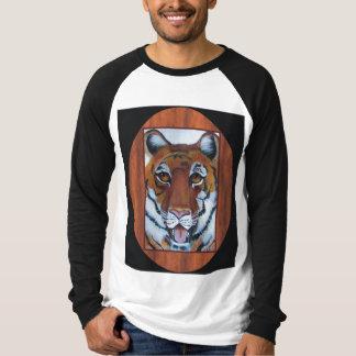 tigre, cara llena polera
