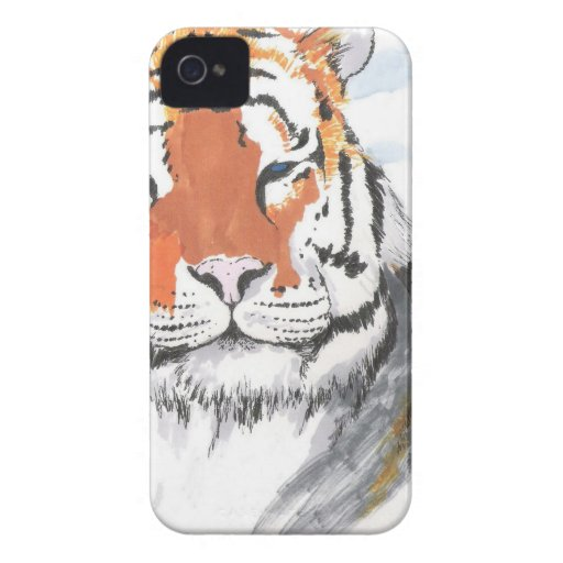 tigre Case-Mate iPhone 4 protectores