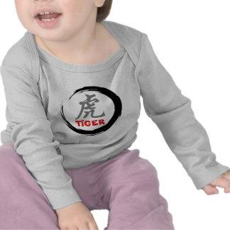 Tigre chino del zodiaco camiseta