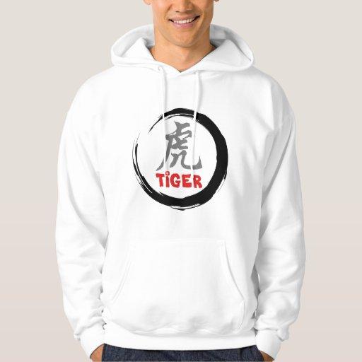 Tigre chino del zodiaco pulóver