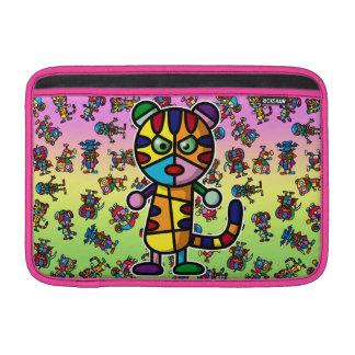 tigre colorido funda para macbook air