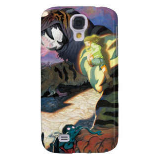 tigre crepuscular para el iPhone 3 Funda Para Galaxy S4