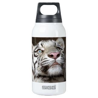 Tigre Cub blanco Botella Isotérmica De Agua