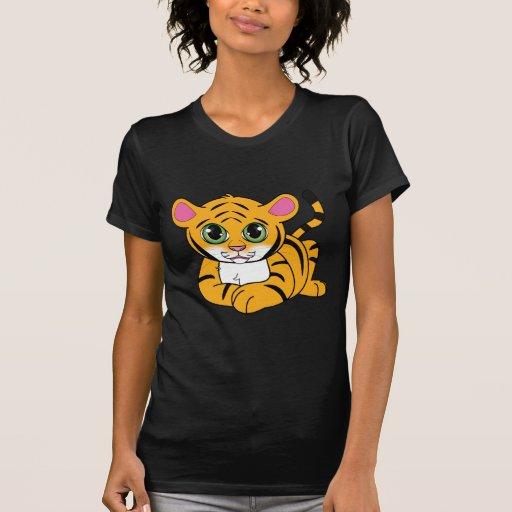 Tigre Cub Camisetas