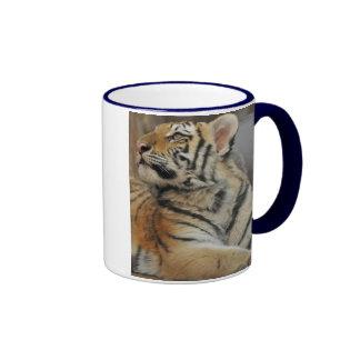 Tigre Cub de Amur Taza A Dos Colores