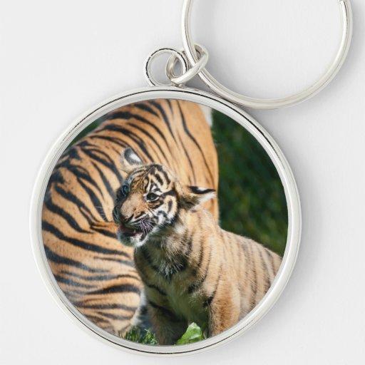 Tigre Cub Llaveros Personalizados