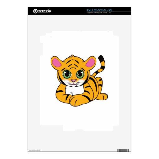 Tigre Cub Skins Para iPad 2