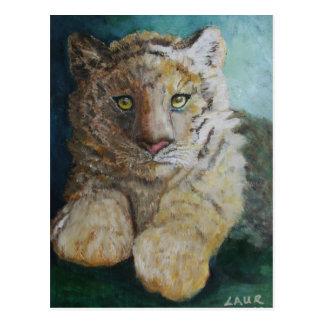 Tigre Cub Tarjetas Postales