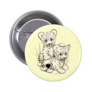 Tigre Cubs blanco lindo Pin