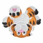 Tigre de bebé al revés lindo