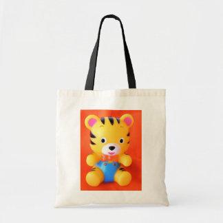 Tigre de bebé bolsa lienzo