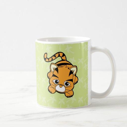 Tigre de bebé Cutie Tazas
