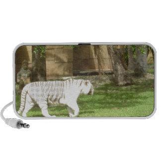 Tigre de Bengala blanco PC Altavoces