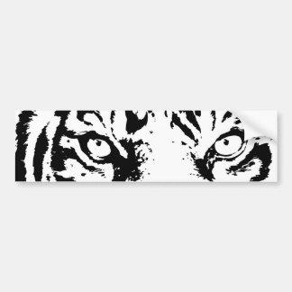 Tigre de Bengala Pegatina De Parachoque