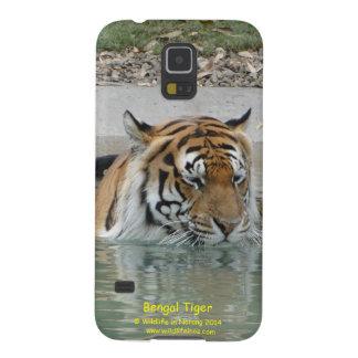 Tigre de Bengala Carcasas Para Galaxy S5